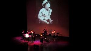"""Από μουσικοθεατρική παράσταση αφιερωμένη στην Τζένη Καρέζη """"Λαχτάρησα μια χώρα"""" 12 Δεκεμβρίου 2012 στο Ίδρυμα Κακογιάννης"""